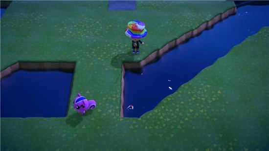动物森友会岛上水域攻略