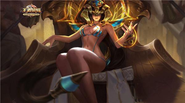 王者荣耀女英雄女蜗尼罗河女神去衣图