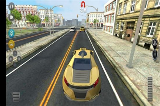 模拟疯狂出租车游戏