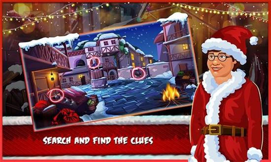 圣诞房间逃生游戏