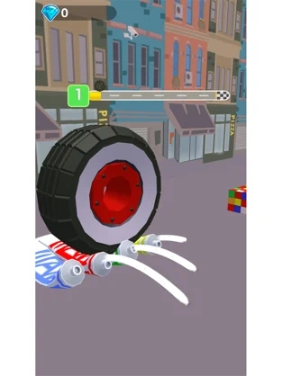 车轮压一压3D减压游戏