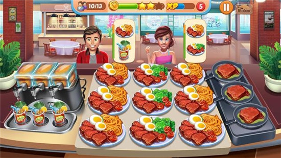 厨师的生活游戏