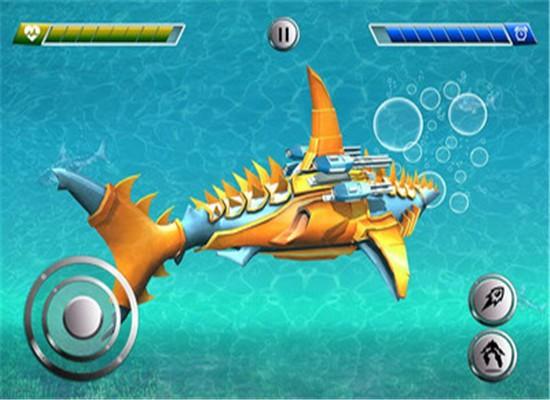 改造机器人鲨鱼安卓版