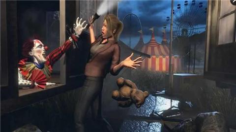 惊悚小丑生存游戏