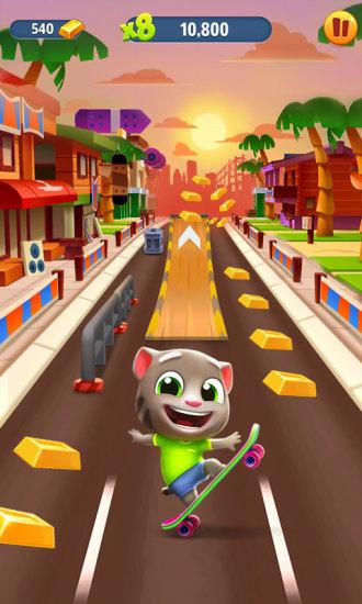 汤姆猫跑酷最新版本下载2021