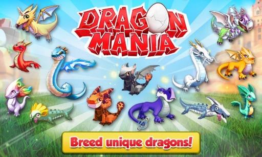 疯狂的龙 修改版 Dragon Mania截图1
