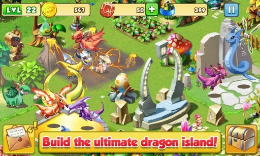 疯狂的龙 修改版 Dragon Mania截图5