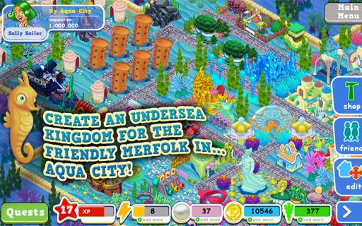 梦幻水都 修改版 Aqua City截图3