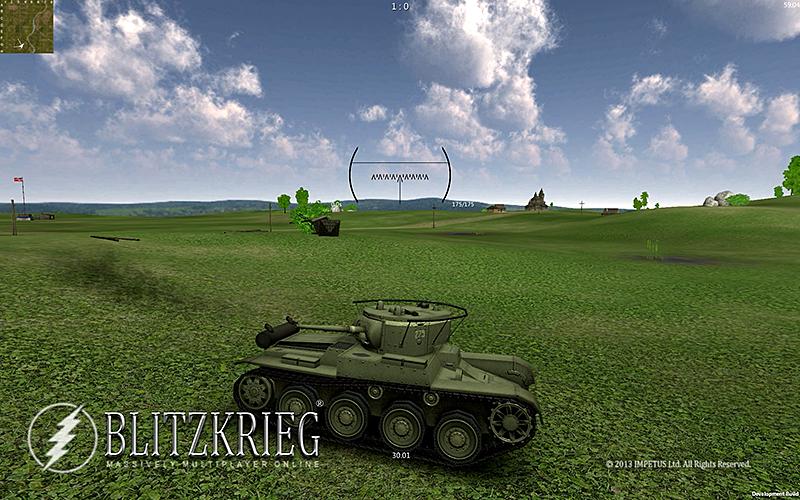 坦克闪电战 修改版截图3