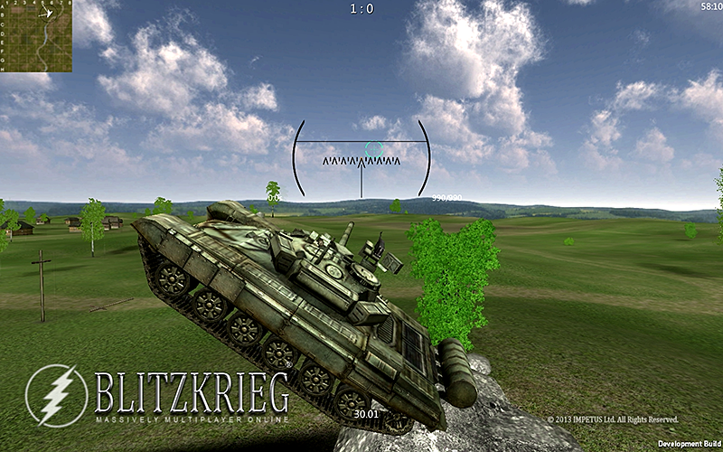 坦克闪电战 修改版截图4