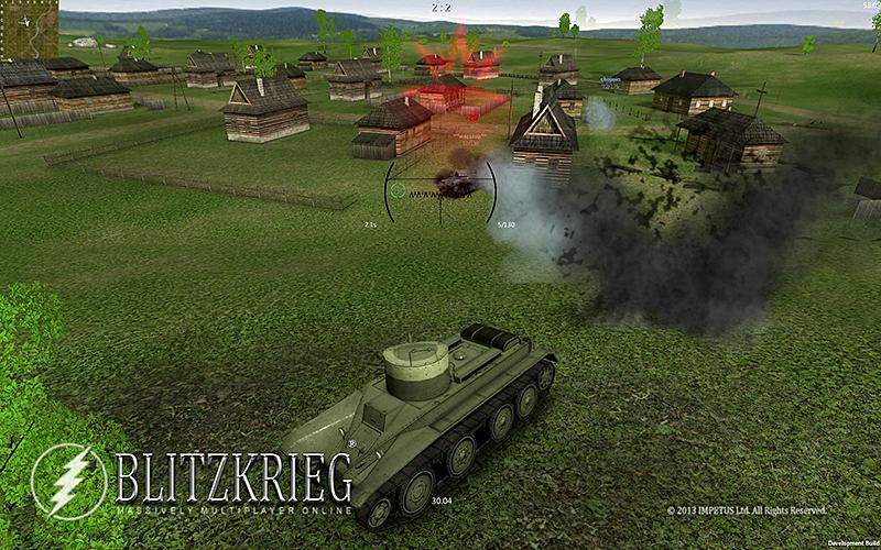坦克闪电战 修改版截图5