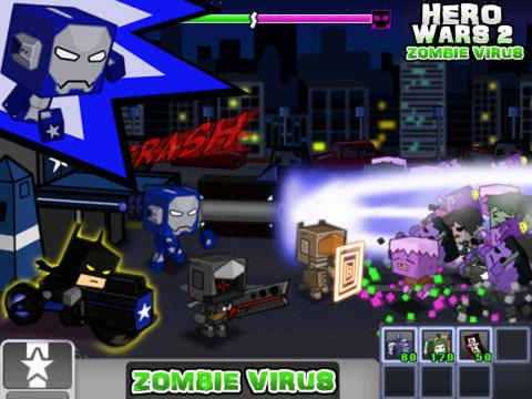 英雄战争2:僵尸病毒 修改版截图5