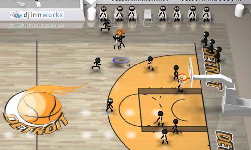 火柴人篮球全解锁版截图1